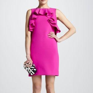 Diane Von Furstenberg Pandora Ruffled Dress Sz 12